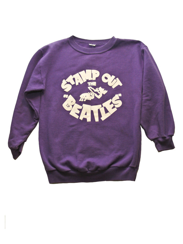 Stamp Out The Beatles Vintage Sweatshirt 1960's