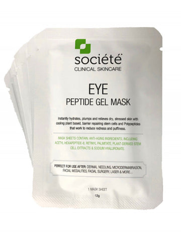 Societe Peptide Eye Gel Mask 10x 12g Pack