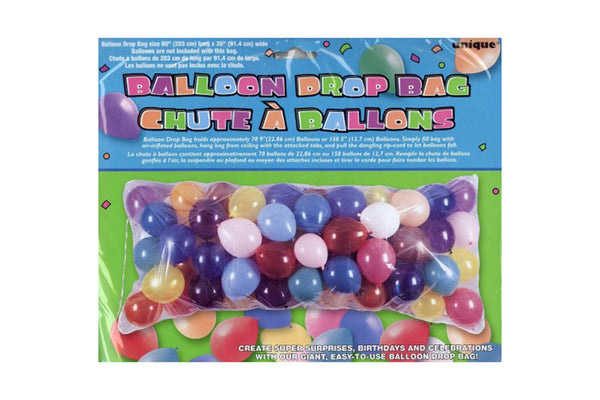 Balloon Drop Bag | Pop Roc Parties
