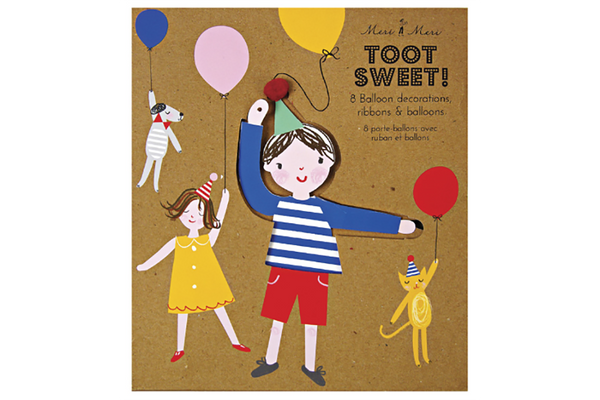 Toot Sweet Balloon Holders - Pop Roc Parties