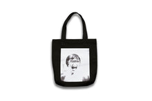 Load image into Gallery viewer, MARION BULL DENIM TOTE BAG BLACK