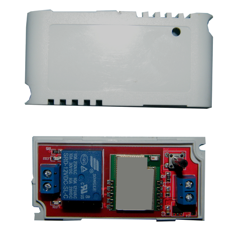 "1-Channel WiFi Controlled Relay w/ Form ""A"" Contact for Android JWIFI-1RA-Timers & Relays-Various-Jayso Electronics"