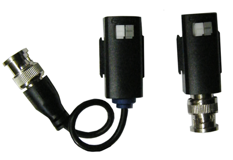1 to 1 Video Balun - BNC to CAT5 Twisted Pair Video Adapter EC-VBP2-Security Cameras & Recorders-Elyssa Corp.-Jayso Electronics