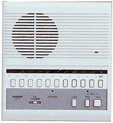 10-Call Master Intercom Station With All-Call, Open Voice, Aiphone, LEF-10C-Intercom Systems-Various-Jayso Electronics
