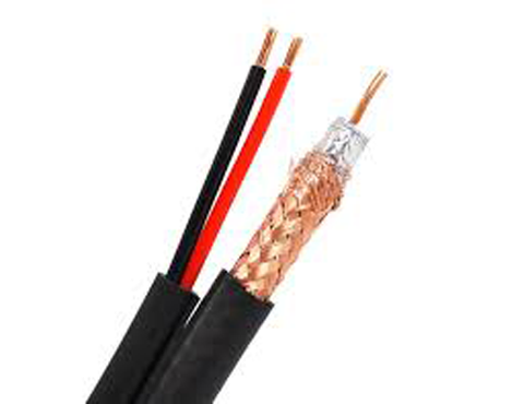 Siamese Video/Power Cable 95% Copper Braid JSC-5918-Wire & Cable-Various-Black-100 Ft-Jayso Electronics