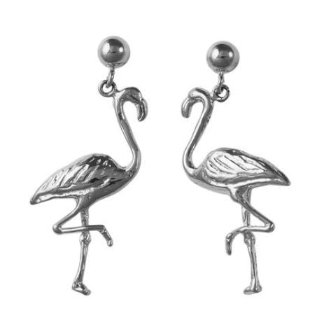30272 - FLAMINGO DANGLE EARRINGS