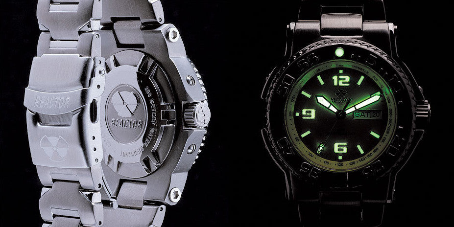 Reactor Ladies' Critical Mass Stainless Steel Dive Watch - Jewelry Works