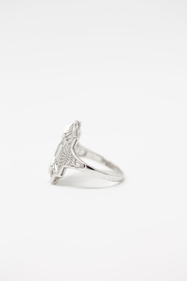 MIRIAM ART DECO RING
