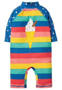 Little Sun Safe Suit - Rainbow Stripe