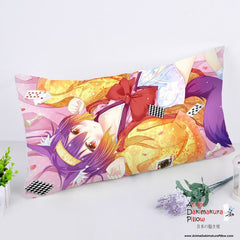 New Hatsuse Izuna - No Game No Life Anime Dakimakura Rectangle Pillow Cover RPC123