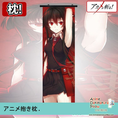 New Akame ga Kill Dakimakura Anime Wall Poster Banner Japanese Art Otaku Limited Edition GZFONG059 - Anime Dakimakura Pillow Shop | Fast, Free Shipping, Dakimakura Pillow & Cover shop, pillow For sale, Dakimakura Japan Store, Buy Custom Hugging Pillow Cover - 1