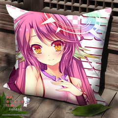 New Jibril - No Game No Life Anime Dakimakura Square Pillow Cover SPC77