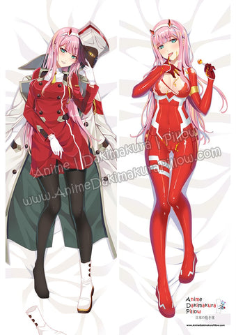 New Zero Two - DARLING in the FRANXX Anime Dakimakura Japanese Hugging Body Pillow Cover ADP85027