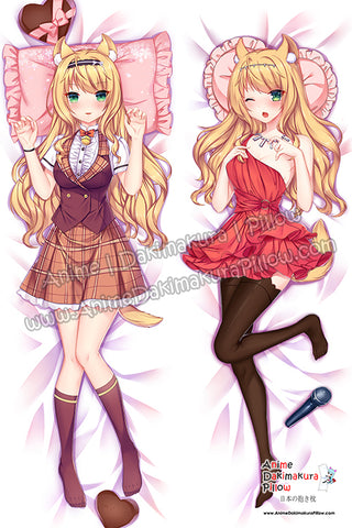 New Maple - Nekopara Anime Dakimakura Japanese Hugging Body Pillow Cover H3747-A