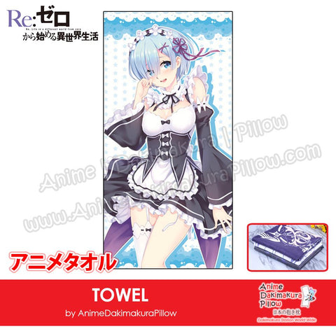 New-Rem-Re-Zero-Japanese-Anime-Soft-Quick-Dry-and-Highly-Absorbent-Towel-ADP-MJ170094