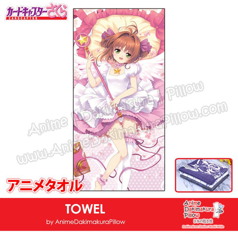 New-Sakura-Kinomoto-Card-Captor-Sakura-Japanese-Anime-Soft-Quick-Dry-and-Highly-Absorbent-Towel-ADP-MJ170109