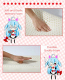 New Miku Izayoi - Date a Live Japanese Anime Head Cushion Pillow Deluxe Memory Soft Head Foam H190015