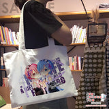 New-Yoshino-Date-A-Live-Anime-Natural-Canvas-Reusable-Environmental-Heavy-Duty-Shopping-Tote-Bag-H150026