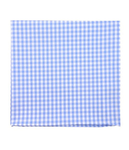 The Tie Bar Sky Novel Gingham Pocket Square