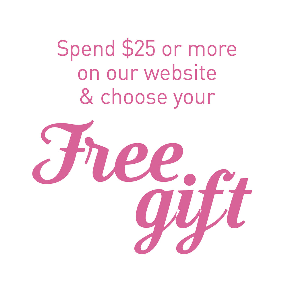 100hour spend $25 and choose your free gift