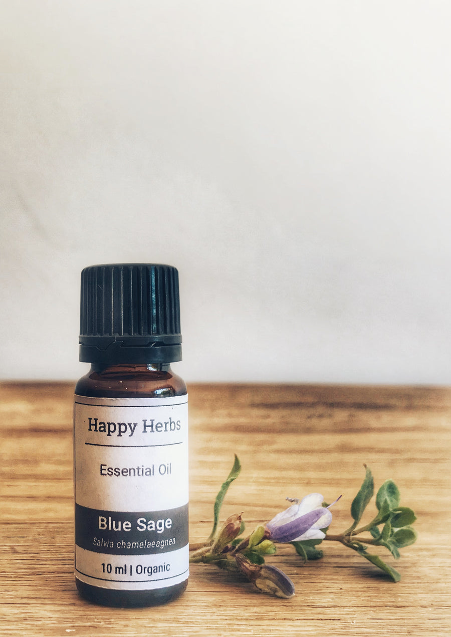 Blue Sage Essential Oil - Happy Herbs