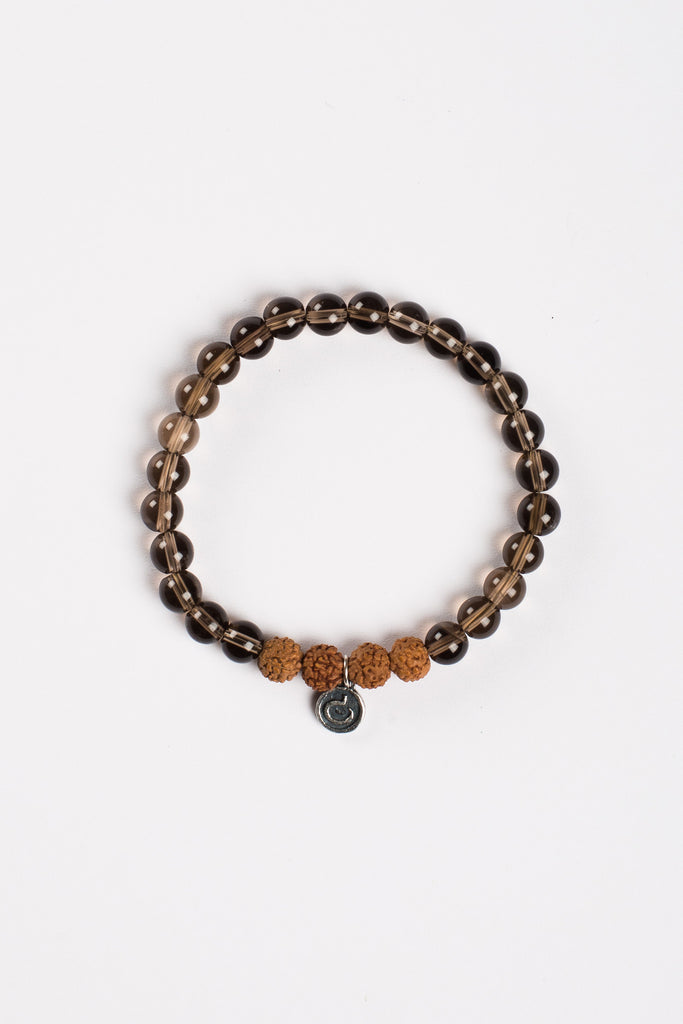 I Am Grounded Bracelet - Rudraksha