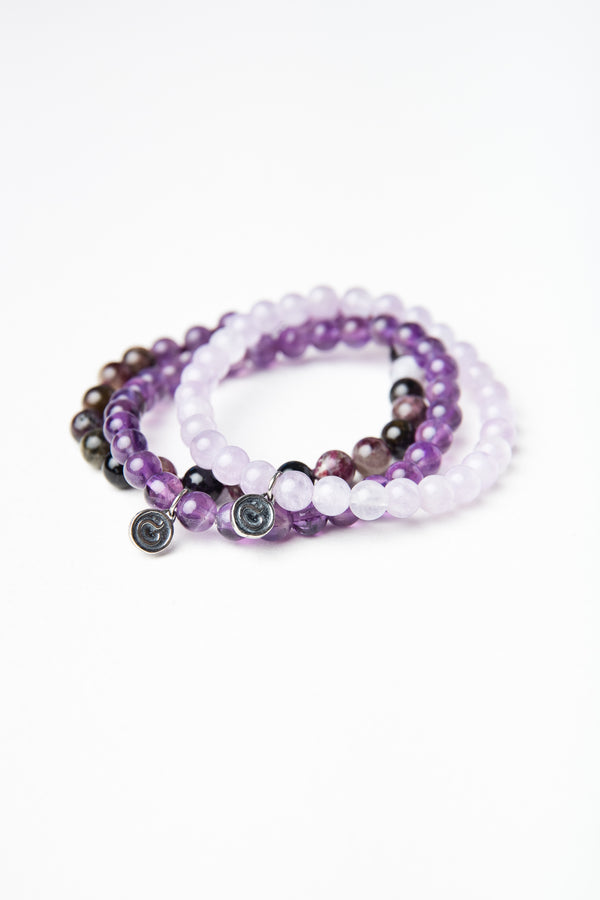 Ombre Purple Bracelet
