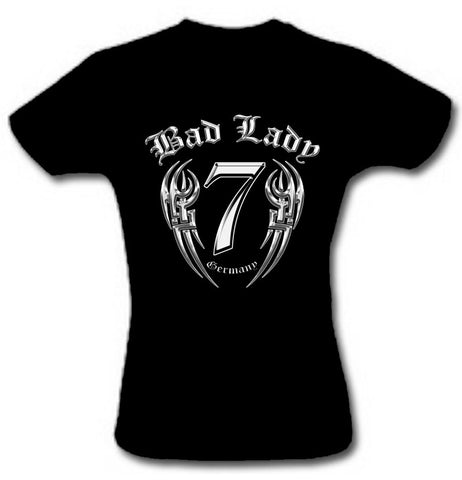 T-SHIRT 'BAD LADY TRIBAL 3D '