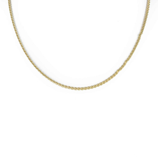 "DESIGN LINK CHAIN 14K YELLOW GOLD 24"" LENGTH"