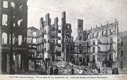 After the Insurrection. Ruins on Sackville Street - Green Gallery