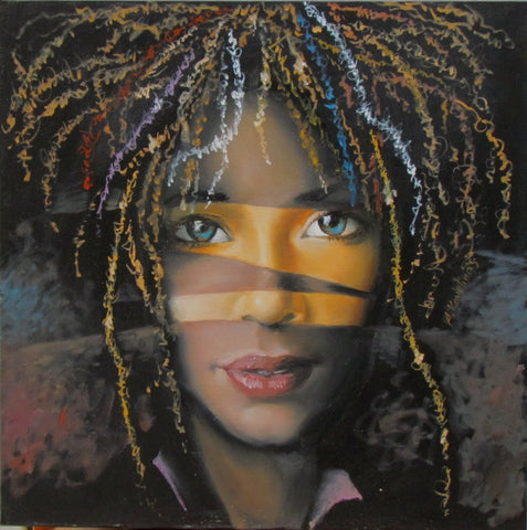 'Creole Girl' by Andrius Kovelinas - Green Gallery