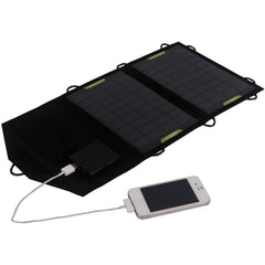 7 W solar charger for mobile phones and ipod