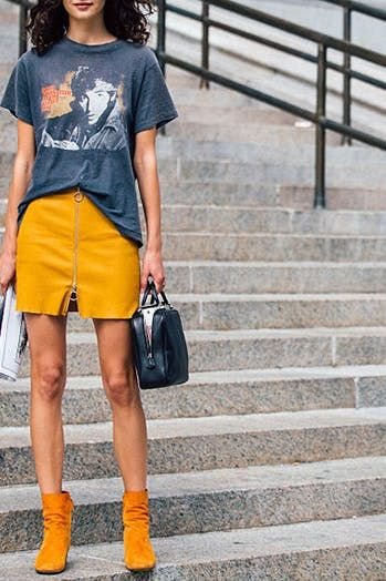 tuck your shirt in for a taller and skinnier frame, fashion hack