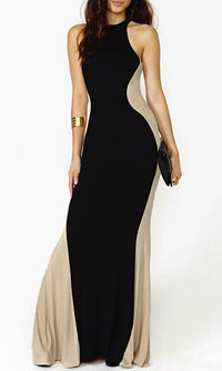 HOURGLASS ILLUSION MAXI DRESS - DRESS - Koogal.com.au