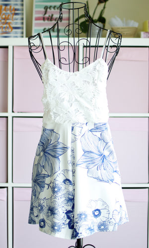 LAVENDER SHORT JUMPSUIT - DRESS - Koogal.com.au
