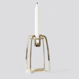Solo candle holder - Gold