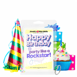 Happy Birthday Party like a Rockstar! Happy Birthday Jewelry Wax Melt