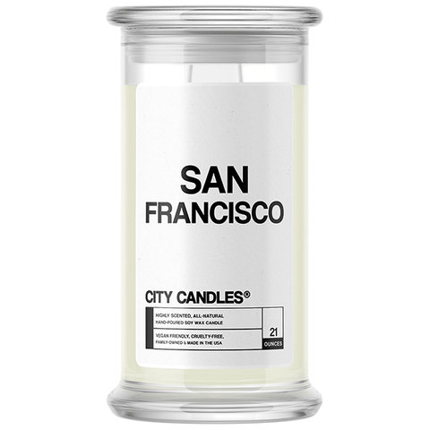 San Francisco City Candle