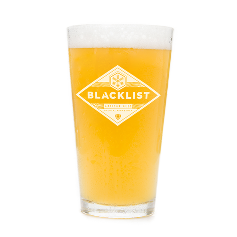 Blacklist Brewing Pint Glass