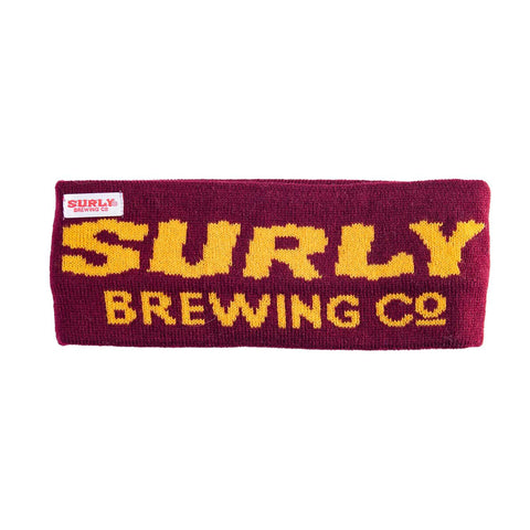 Surly Team Headband - Maroon and Gold - Minnesota Gophers Front