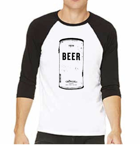 Generic Beer Can Baseball shirt