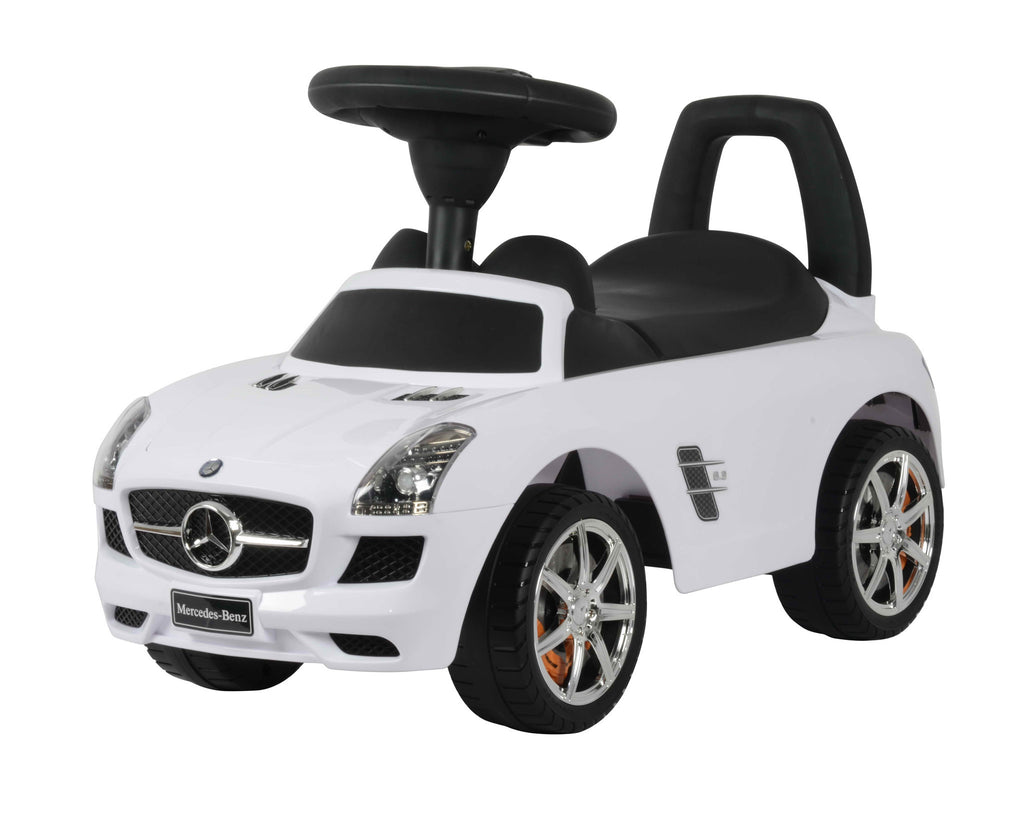 Mercedes Benz Licensed Manual Ride On (Model:332) WHITE