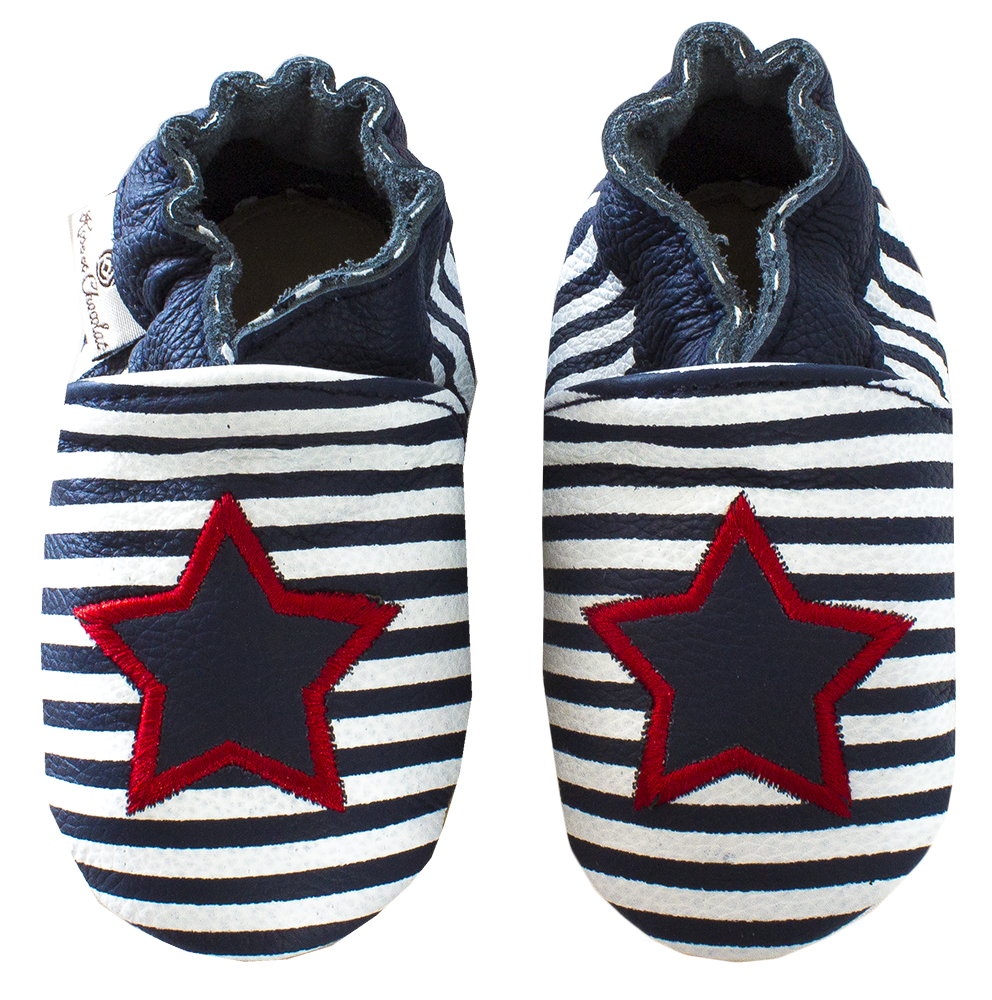 Rose et Chocolat - Star Stripe navy