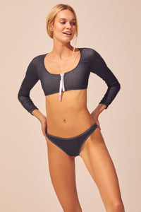 The Montauk Long Sleeve Bikini