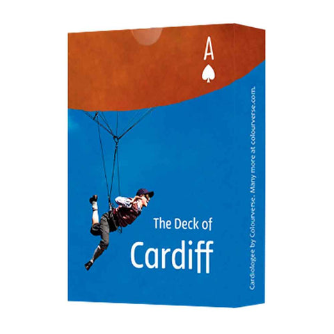 Playing Cards - The Deck of Cardiff-The Welsh Gift Shop