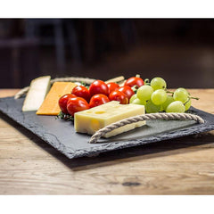 Cheese Board - Welsh Slate - Large-Kitchen-The Welsh Gift Shop