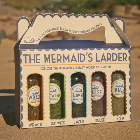 Mermaid's Larder - Laver Seaweed Collection-Kitchen-The Welsh Gift Shop