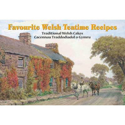 Welsh Teatime Recipes - Traditional Welsh Cakes-Book-The Welsh Gift Shop