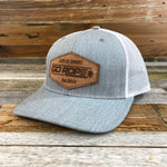 Roughout Patch Hat- Grey/ White Mesh