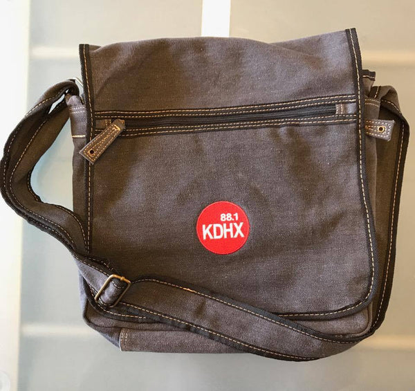 KDHX Logo Messenger Bag